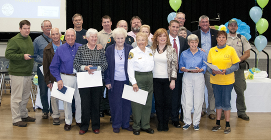 Picture of the 2011 Outstanding Volunteers