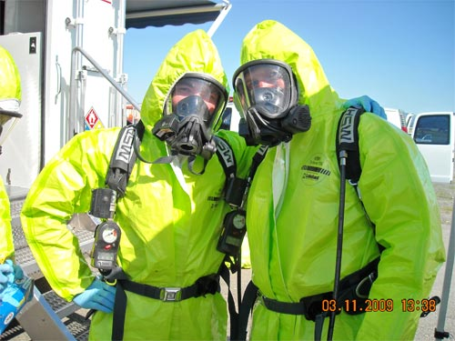 Hazardous Materials Volunteers.